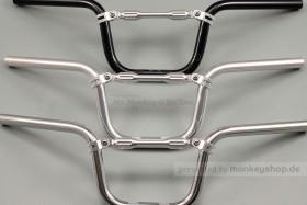 Daytona Lenker semi-hoch / breit B620 H163 silber