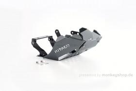 Kitaco Unterfahrschutz Aluminium grau eloxiert f. Monkey 125