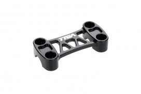 Obere Lenkerklemme Aluminium CNC schwarz eloxiert f. MSX