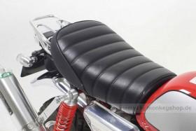 Takegawa Sitzbank flach Typ Tuck schwarz f. Monkey FI 50