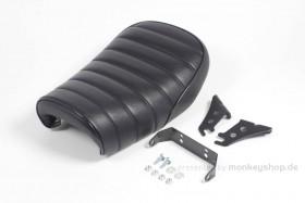 Takegawa Sitzbank flach Typ Tuck Roll schwarz f. Monkey FI 50