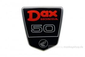 Honda Dax 12V Rahmen Emblem Metall selbstklebend