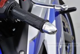 Daytona BULLET Lenkerenden Set Aluminium silber eloxiert 14 - 19 mm