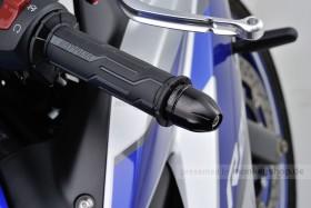 Daytona BULLET Lenkerenden Set Aluminium schwarz eloxiert 14 - 19 mm