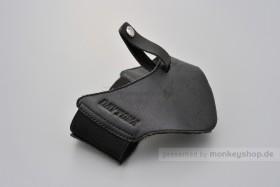 Daytona Stiefelschoner Leder schwarz Small