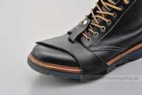 Daytona Stiefelschoner Leder schwarz Large
