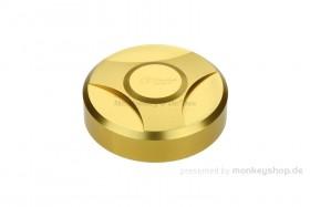 E-Starter Deckel Aluminium CNC gold eloxiert f. MSX + Monkey 125