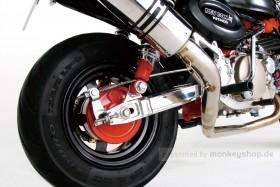 Kitaco Hinterradschwinge +40 mm Aluminium f. Monkey