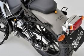 Daytona Taschenhalterung links schwarz f. Rebel 250 500