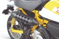 Takegawa RS Sports Twin Tail Auspuffanlage schwarz f. Monkey 125