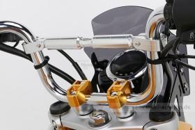 Kitaco Lenkerstrebe silber 175 - 225 mm ø22.2