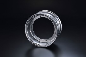 G-Craft 3.50x10 Felge Aluminium silber f. Dax