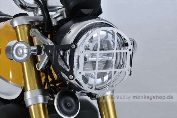 G-Craft Scheinwerfer Gitter Schutz Alu CNC f. Monkey 125
