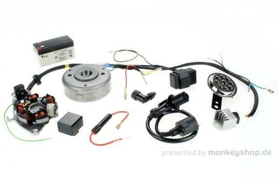 Umbausatz 6V auf 12V CDI Zündung f. CB50 CY50 XL50