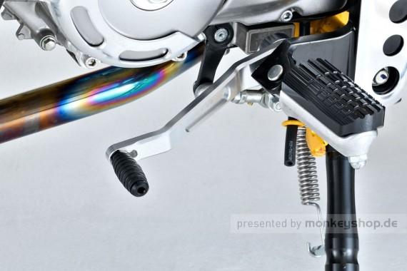 G-Craft Aufsatz Fußrasten Aluminium 2er Set f. Monkey 125