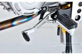 G-Craft Schalthebel Alu CNC + Rose Joint Schaltgestänge f. Monkey 125