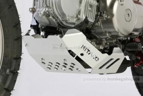 Kitaco Unterfahrschutz Aluminium silber eloxiert f. Monkey 125