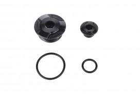 Kitaco Aluminium CNC Zündungsdeckel Schrauben Set schwarz eloxiert f. Super Cub + Monkey 125