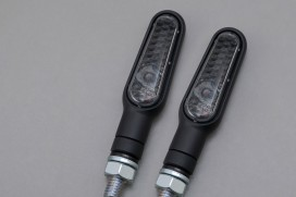 Daytona D-Light LED-Blinker Paar (schwarz matt / smoke)