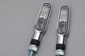 Daytona D-Light LED-Blinker Paar (chrome / smoke)