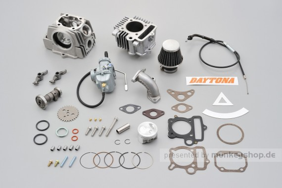 Daytona SOHC 2-Valve New Hyper Head 88 cc + Keihin PC20 Vergaser Kit