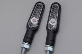 Daytona D-Light LED-Blinker Paar (schwarz matt / clear)