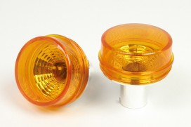 "Takegawa ""BLAZE"" Blinker Glas orange m. Glühlampen 2er Set f. Monkey + Gorilla 12V"