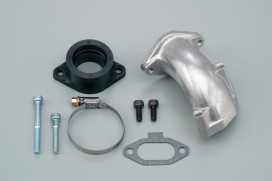 Daytona Ansaugstutzen Kit DOHC Oval Port f. PE28 links