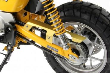 Kettenschutz Aluminium gold eloxiert f. Monkey 125