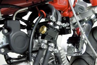 Takegawa In-Line Thermostat Ölkühler 80°C schwarz