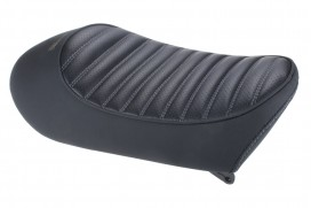 Sitzbank flach Typ Tuck Roll schwarz grau f. Monkey 125 Z125MA