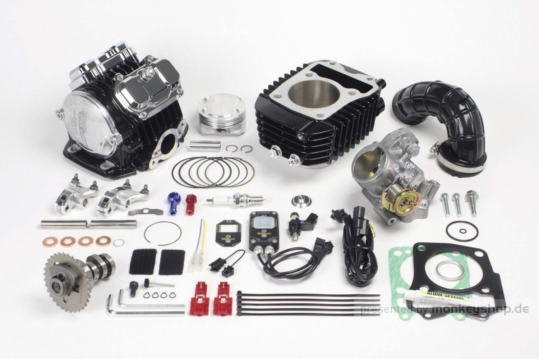 takegawa tuning kit 181 cc 4 valve 4v r zylinderkopf mit. Black Bedroom Furniture Sets. Home Design Ideas