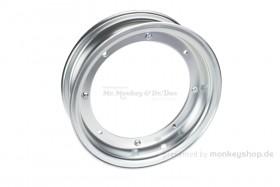 Zhenhua 2.75x10 Felge Aluminium silber eloxiert 2-teilig f. Dax