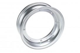 Zhenhua 3.50x10 Felge Aluminium silber eloxiert 2-teilig f. Dax