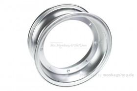 Zhenhua 4.00x10 Felge Aluminium silber eloxiert 2-teilig f. Dax