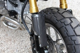 TYGA Carbon Fork Guards Gabelschützer Set f. Monkey 125
