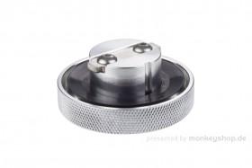 Tankdeckel Aluminium CNC silber f. Replika Monkey