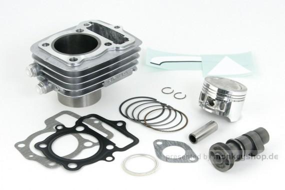 Takegawa S-Stage Kit 80 cc + Tuning Nockenwelle f. CY50 XL50 CB50