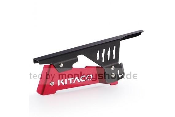 Kitaco Kettenschutz Aluminium rot eloxiert f. Monkey 125
