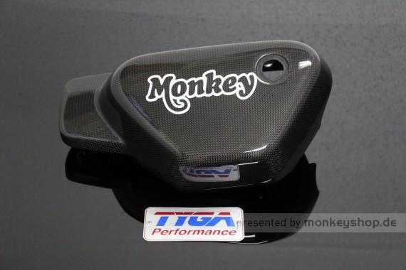 TYGA Carbon Seitendeckel links f. Monkey 125