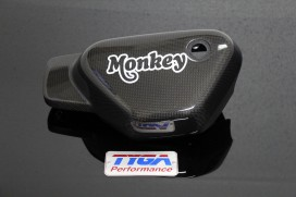 TYGA Carbon Seitendeckel links f. Monkey 125