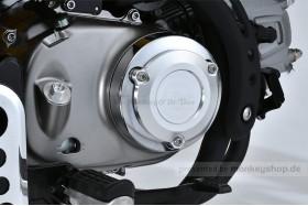 G-Craft Schutz f. Kupplungsdeckel Alu CNC silber eloxiert f. Monkey + Super Cub 125