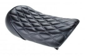 Sitzbank flach Typ Karo V2 schwarz grau f. Monkey 125 Z125MA