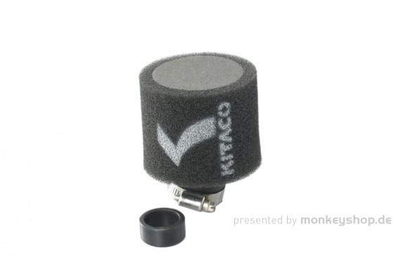 Kitaco Super Power Cleaner Sport Luftfilter gebogen 25-28mm / 34-36mm