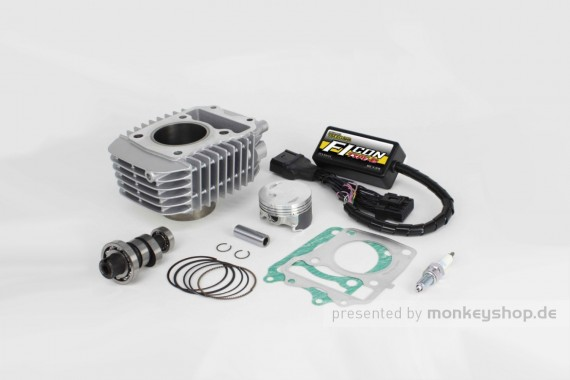 Takegawa Hyper e-Stage N20 143 cc Bore Up Tuning Kit mit FI-Controller Type-e f. Super Cub 125