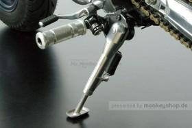 Takegawa Seitenständer 155 - 215 mm silber einstellbar f. Monkey 50