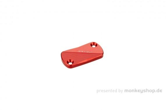 Cover Bremspumpe CNC Alu rot eloxiert f. Monkey 125 + MSX