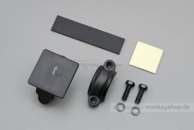 Daytona Universalhalter Lenkerklemme ABS schwarz