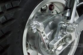 Takegawa Bremsarm Gelenk Tonne Aluminium CNC silber ø12 x 21 mm