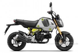 """Honda MSX125 """"GROM"""" Force Silver Metalllic Modell 2021"""